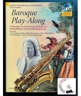 Vari - Baroque Play-Along - Tenor Saxophone