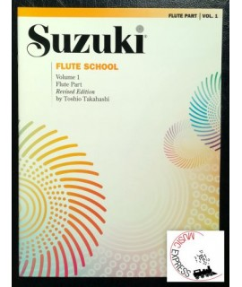 Suzuki Flute School Volume 1 - Flute Part - Revised Edition