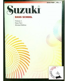 Suzuki Bass School Volume 1 - Bass Part - Revised Edition