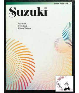 Suzuki Cello School Volume 8 - Cello Part - Revised Edition