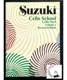 Suzuki Cello School Volume 1 - Cello Part - Revised Edition
