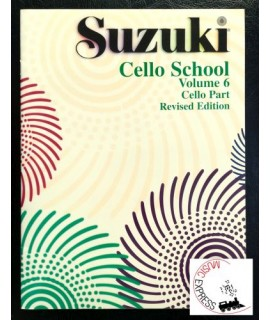 Suzuki Cello School Volume 6 - Cello Part - Revised Edition