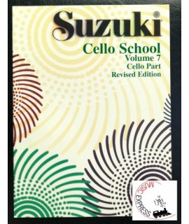 Suzuki Cello School Volume 7 - Cello Part - Revised Edition