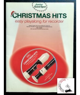 Vari - Christmas Hits - Easy Playalong for Recorder
