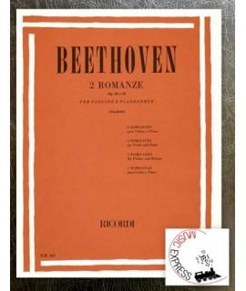 Beethoven - 2 Romanze per Violino e Pianoforte Op. 45 e 50