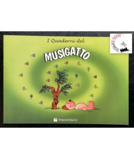 Quaderno di Musica - I Quaderni del Musigatto - 5 Pentagrammi