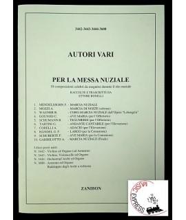 Autori Vari Per La Messa Nuziale - 10 Composizioni Celebri