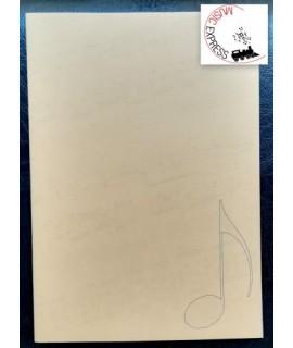 Quaderno di Musica Serie Classica - 6 Gruppi da 2 Pentagrammi