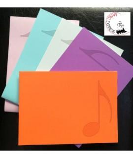Quaderno di Musica - 6 Pentagrammi, 24 Pagine - Serie Studio