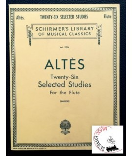Altès - Twenty-Six Selected Studies for the Flute