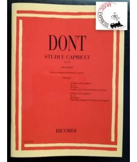 Dont - Studi e Capricci Op. 35 per Violino