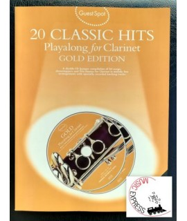 Vari - 20 Classic Hits - Playalong for Clarinet