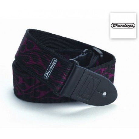 Dunlop Classic Strap Flambe Red D38-11RD