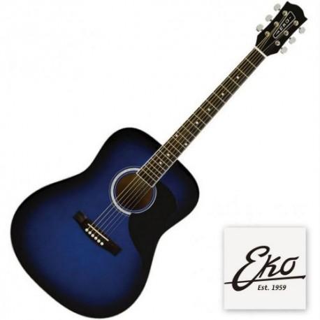 Eko Ranger 6 Eq Blue Sunburst