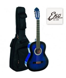 Eko CS-5 Blue Burst 3/4