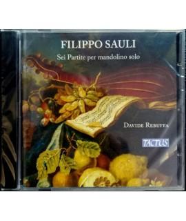 Filippo Sauli - Sei Partite Per Mandolino Solo