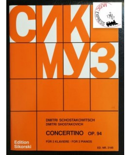 Shostakovich - Concertino Op. 94 for 2 Pianos