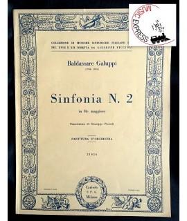 Galuppi - Sinfonia N. 2 in Re Maggiore