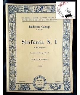 Galuppi - Sinfonia N. 1 in Re Maggiore