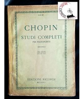 Chopin - Studi Completi per Pianoforte