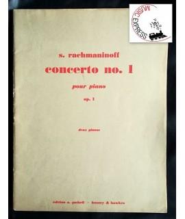 Rachmaninoff - Piano Concerto no. 1, Op. 1