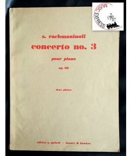 Rachmaninoff - Piano Concerto no. 3, Op. 30
