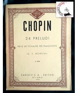 Chopin - 24 Preludi nelle 24 Tonalità per Pianoforte