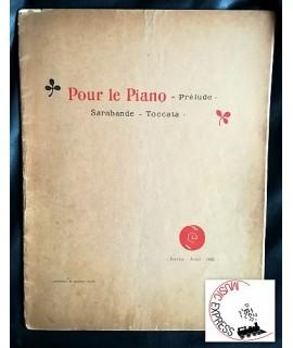 Debussy - Pour le Piano - Prélude, Sarabande, Toccata