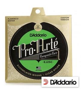 D'Addario EJ25C Pro-Arté Composite Flamenco