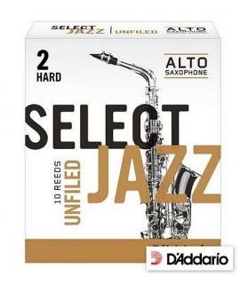 D'Addario Rico Select Jazz 2 Hard Sax Contralto