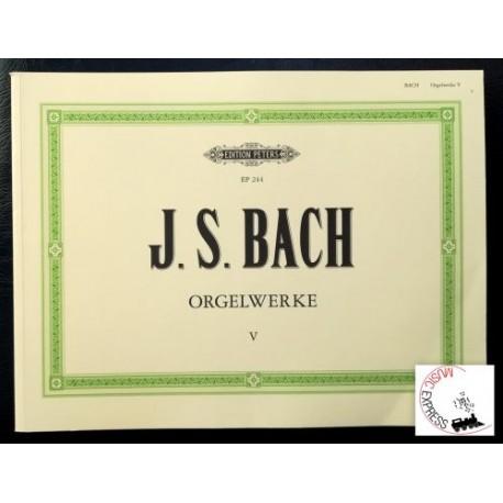 Bach - Orgelwerke V