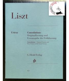 Liszt - Consolations