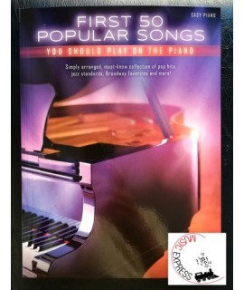 Vari - First 50 Popular Songs You Should Play on the Piano