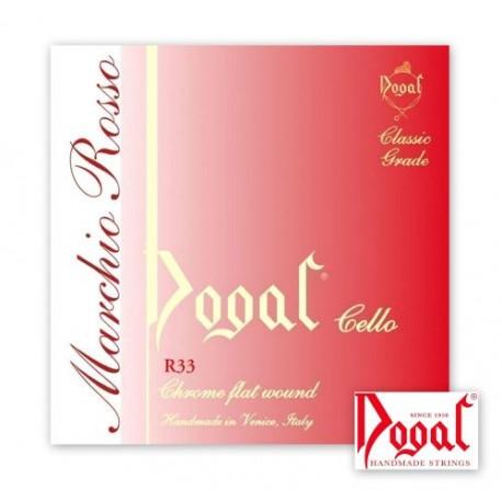 Dogal R33B Marchio Rosso - Corde Violoncello 1/4