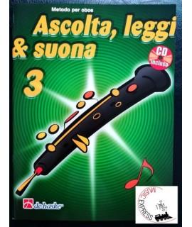 Ascolta, Leggi & Suona 3 - Metodo per Oboe Volume 3