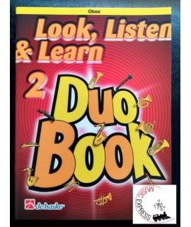 Look, Listen & Learn 2 Duo Book Oboe