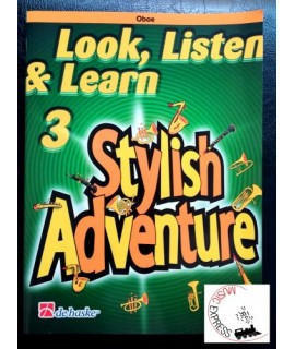 Look, Listen & Learn 3 Stylish Adventure Oboe
