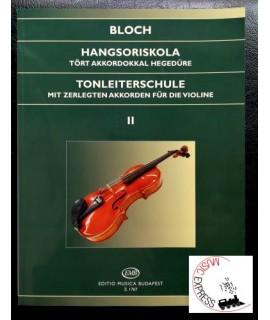 Bloch - Hangsoriskola 2