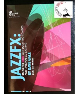 Gale - JazzFx: Solos for Oboe With Duet/Trios Combos - Grade Easy-Medium