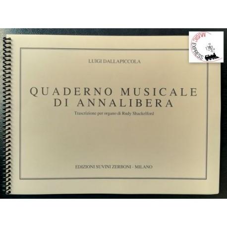 Dalla Piccola - Quaderno Musicale di Annalibera per Organo