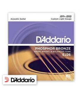 D'Addario EJ26 Phosphor Bronze 11/52