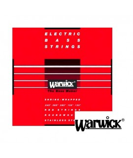 Warwick 42300 Set ML 5B Red Strings 40/130