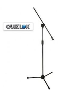 Quik Lok A/302BK Asta Microfonica a Giraffa