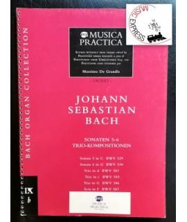 Bach - Sonaten 5-6 Trio-Kompositionen