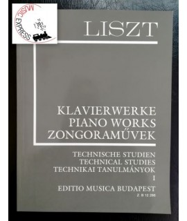 Liszt - Piano Works - Technical Studies 1