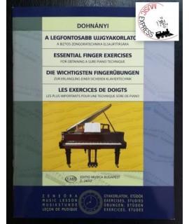 Dohnanyi - Essential Finger Exercises