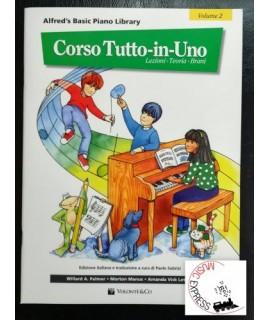 Alfred's Basic Piano Library - Corso Tutto-In-Uno Volume 2