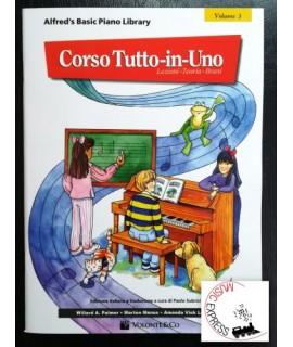 Alfred's Basic Piano Library - Corso Tutto-In-Uno Volume 3