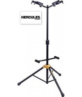 Hercules GS422B Plus Supporto per Due Chitarre