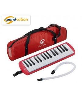 SoundStation Melody-Key 32 Rossa - Melodica 32 Tasti
